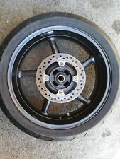 Wheel Rear with Disc and Sprocket Triumph Street Triple 675 2007