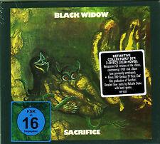 2 CD +DVD (NEU!) BLACK WIDOW - Sacrifice (dig.rem. + Bonus Live Beat ClLub mkmbh