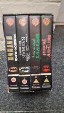 Batman Legacy VHS Box set 4 Videos