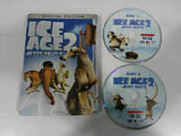 ICE AGE 2 SPECIAL EDITION 2 DVD STEELBOOK + EXTRAS ENGLISH DEUTSCH GERMAN ED AM