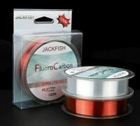 100M Fluorocarbon Fishing Line 5-30LB Super Strong Brand Leader Line Clear Fly