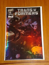 TRANSFORMERS GENERATION 1 #1 VOL 2 DREAMWAVE CHROME APRIL 2003