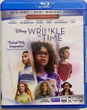 DISNEY A WRINKLE IN TIME BLU RAY DVD 2 DISC SET FREE WORLD WIDE SHIPPING BUY IT