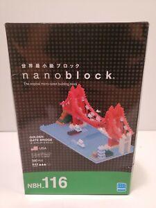 Golden Gate Bridge Nanoblock. Brand New Unopened Box.