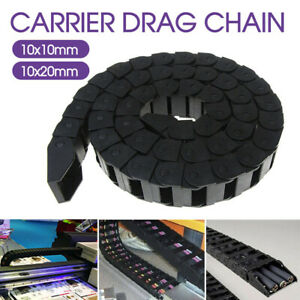 Nylon Towline Cable Carrier Drag Chain Plastic Towline Machine Tool Nest 10/20MM
