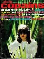 SALUT LES COPAINS. n°10 - Mai 1971(Dutronc, Presley, Polnareff + poster.)