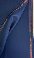 Navy 100% Wool Suit Fabric. 420g For Dugdale Bros.