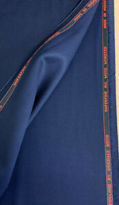 Navy 100% Wool Suit Fabric. 420g For Dugdale Bros