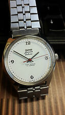HMT JANATA DELUX 17 JEWELS HAND WOUND NOS NEW OLD STOCK BEAUTIFUL VINTAGE WATCH