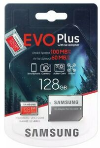 Micro SD Memory Card TF Class 10 SDHC SDXC Samsung 32GB 64GB 128GB FHD & Adapter
