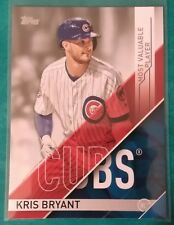 2017 TOPPS MLB AWARDS KRIS BRYANT #MVP-2 CHICAGO CUBS MOST VALUABLE PLAYER CHAMP