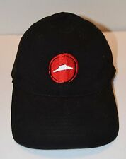 Pizza Hut Delivery Driver Employee Work Uniform Black Hat Cap Adjustable