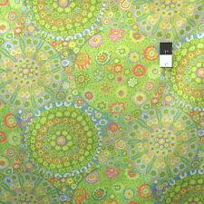 Kaffe Fassett PWGP092 Millefiore Green Cotton Fabric By The Yard