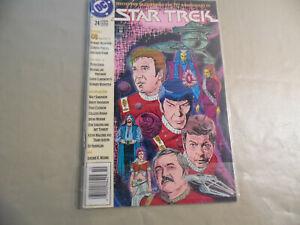 Star Trek #24 (DC 1991) Newsstand Variant / Free Domestic Shipping