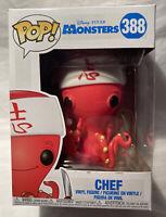 Chef #388 (Monsters Inc. Disney) - Funko Pop Vinyl Figure - 2018 - New In Box