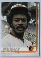 2019 Topps Series 2 Baseball Short Print Variation Eddie Murray #542 Baltimore