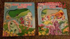 2 My Little Pony Board Books: Minty Monkeys Around And Wysteria's Wish