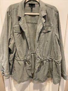 Plus size 28 utility jacket by Lane Bryant