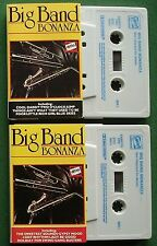 Big Band Bonanza Duke Ellington Gene Krupa + Cassette Tape x 2 - TESTED