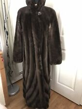 Sheared  Canadian beaver Long  Real fur coat size 8-10