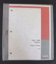 GENUINE CASE 1290 1390 TRACTOR PARTS MANUAL CATALOGS CLEAN W/BINDER