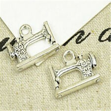8pc Tibetan Silver sewing machine Charm Bead Pendant accessories wholesale PL992