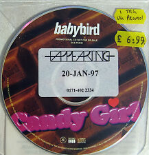 BABYBIRD CD Candy Girl UK Promo Picture Disc + Promo Info STICKER + Release Date