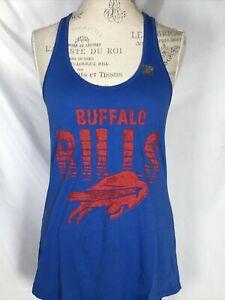 Buffalo Bills Junk Food NFL Blue Touchdown Tank Top Women's MEDIUM