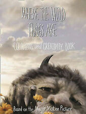 WHERE THE WILD THINGS ARE _ COLOURING AND CREATIVITY __ BRAND NEW __ FREEPOST UK