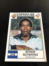 Panini Espana 82 - Gutierrez
