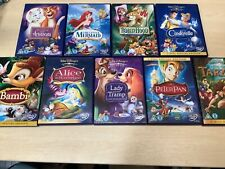 Bundle of 9 Disney Special Edition DVDs Childrens Movies