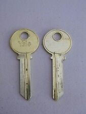 "Original Yale Key Blank ""G"" Grand Master 6 Pin - 2 keys"