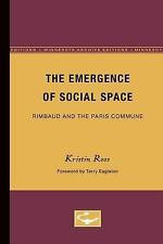 Theory and History of Literature: The Emergence of Social Space : Rimbaud and...