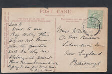 Family History Postcard - Waite / Burrows - New England, Peterblrough RF820