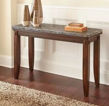 Adalyn Home Marble Top Console Living Room/Lounge Side Table - Collection Only