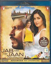 Jab Tak Hai Jaan - Shahrukh Khan, Katrina Kaif - Hindi Movie Bluray Region Free