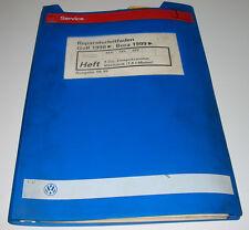 Werkstatthandbuch VW Golf 4 IV Typ 1J Bora 4 Zylinder Einspritz Motor 1,6 l