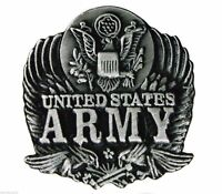 Army Eagle Pewter Hat or Lapel Pin H14089D3