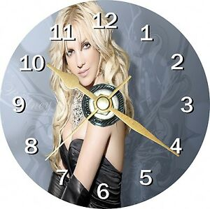 Britney Spears Novelty Cd Clock Can be personalised