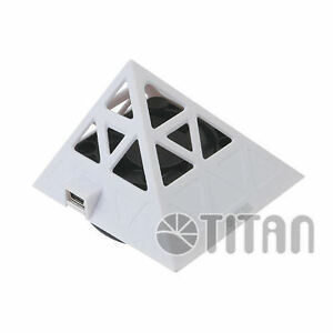 Titan TTC-NF02TZ(WB) Pyramind Phone Cooler/Stand (White)