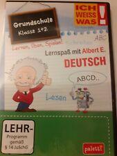 Lernspaß mit Albert E. Deutsch - Grundschule 1. und 2. Klasse, PC-Spiel