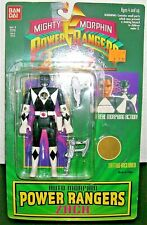 1994 Mighty Morphin BLACK POWER RANGERS ACTION FIGURE Zach Bandai Sealed #2310