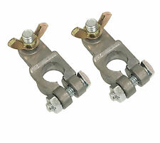 2x  Marine Boat Battery Terminals End Connector w/ Wing Top Post Car Automotive