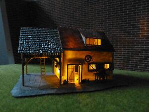 Flackerlicht Feuer Brennendes Haus zu H0 N TT Z funktionsfertiges LED Modul NEU