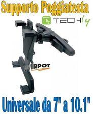 SUPPORTO PER POGGIATESTA AUTO PER IPAD MINI GALAXY TAB DA 7 A 10.1 P3110 P7500