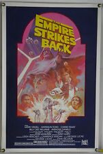 THE EMPIRE STRIKES BACK ROLLED ORIG 1SH MOVIE POSTER STAR WARS RR82 (1980)