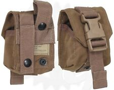 USMC Frag Grenade Pouch MOLLE II Marine Corps Coyote Brown FREE SHIPPING