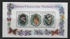 Jamaica 1982 21st B/Day Diana Booklet Pane SG 554a MNH