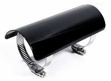 Heat Shield Black For Harley Honda Suzuki EXHAUST MANIFOLD PIPES