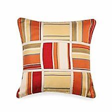 Nautica Bay View Breakfast Coverlet Pillow Decorative 16 x 16 Madras Beach House